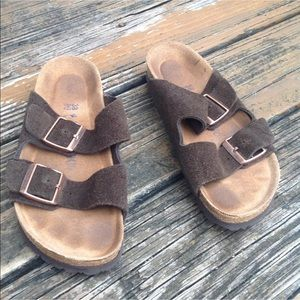 Birkenstock Arizona Suede Sandals Womens 7 M 5 38